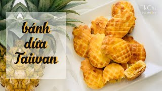 LÀM BÁNH DỨA 🍍ĐÀI LOAN SIÊU ĐÁNG YÊU Không cần lò nướng I Taiwanese Pineapple Cake
