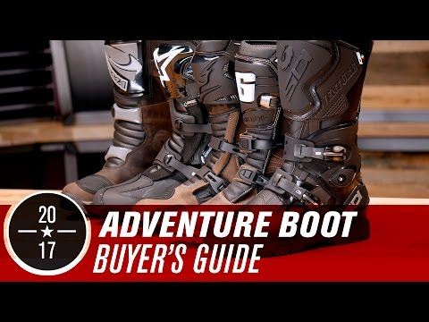 Best ADV/Dual Sport Motorcycle Boots | 2017
