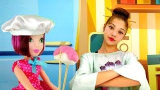 Видео для девочек - Полен готовит суши - Смешное видео