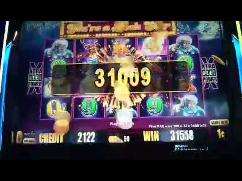 Wolf slot machine big win