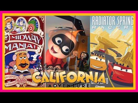 Top 6 BEST Rides And Attractions At Disney California Adventure! |Stix Top 6| Disneyland Resort