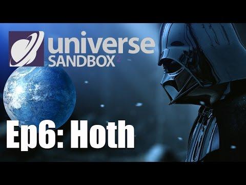 EPISODE 6: Hoth - Star Wars in Universe Sandbox 2