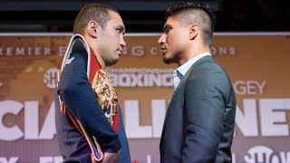 Mikey Garcia vs. Sergey Lipinets: Kickoff Press Conference Recap | March 10 on SHOWTIME