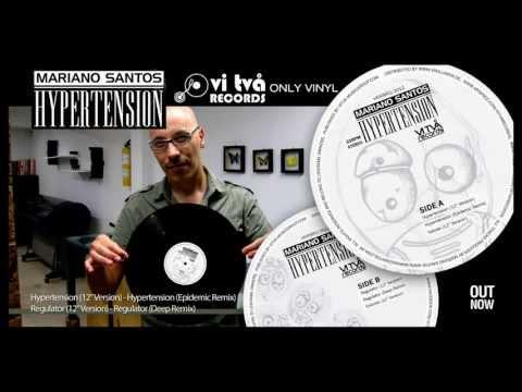 "HYPERTENSION (12"" VERSION) - MARIANO SANTOS :: ONLY VINYL by VI TVA RECORDS Mp3"