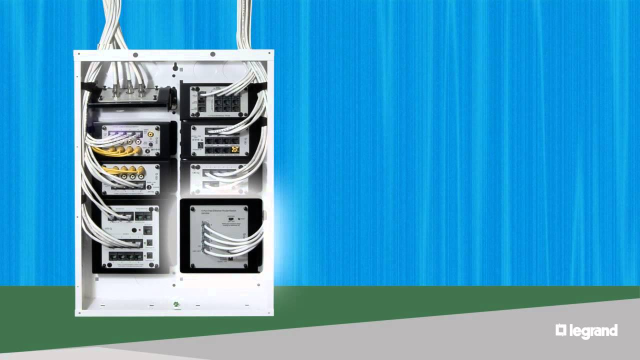 home entertainment wiring connection panel [ 1280 x 720 Pixel ]