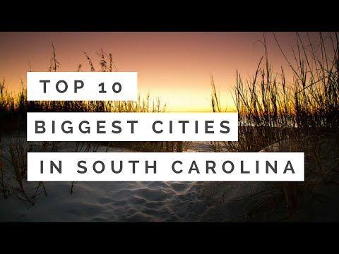 Top 10 Biggest Cities In South Carolina