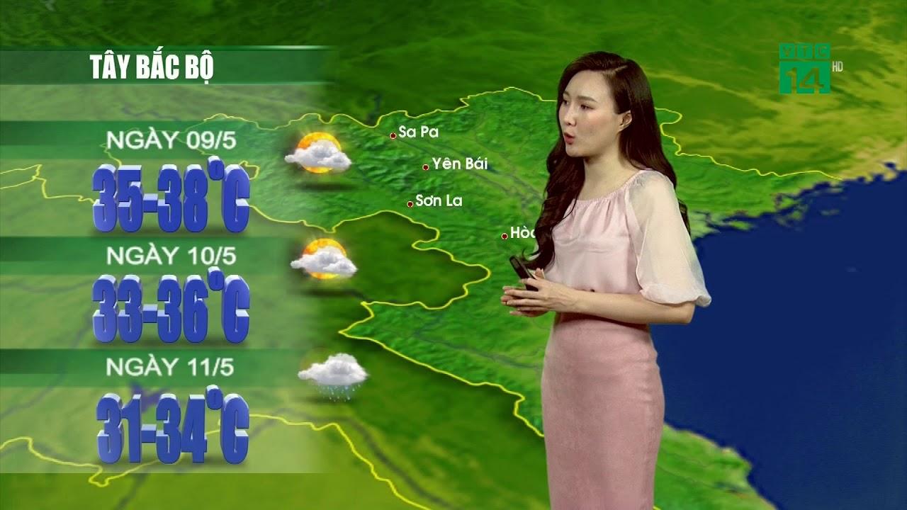 Thời tiết 12h 08/05/2020: Miền Bắc nắng nóng gay gắt tăng cường, ngày mai hạ nhiệt| VTC14