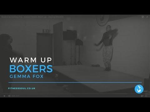 Boxers by Gemma Fox - Dance Fitness Warm Up - Joanna Weintritt