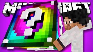 СПИРАЛЬНЫЙ ЛАКИ БЛОК Minecraft Обзор Мода