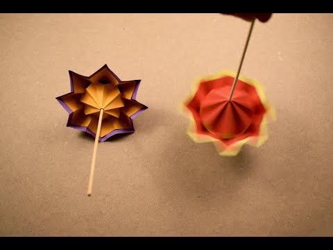 Origami Spinner | Paper Craft | DIY Spinner