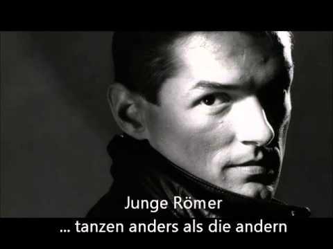 "Falco ""Junge Römer"" -young romans - Lyrics on Screen"