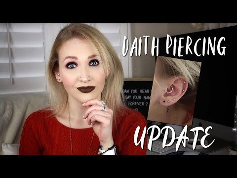 DAITH PIERCING UPDATE | Infections, Bumps, & Headaches