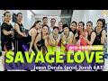SAVAGE LOVE - Jason Derulo | Pre-cooldown| Zumba Choreography | by Leyna #tiktoktrend