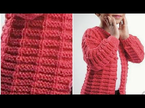 e612ff2b894b Attractive and Simple Sweater Design for Beginners  Design-215 - YouTube
