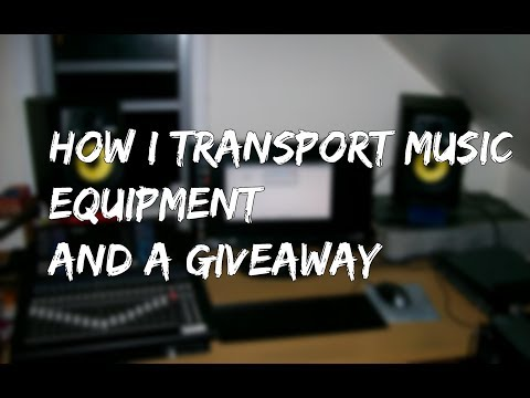 HOW I TRANSPORT MUSIC GEAR (+ A GIVEAWAY)