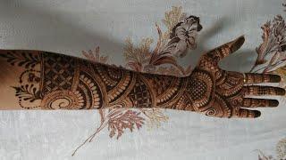 Bride Mehendi Design For Front Hand ( Part - 1)  Dulhan Special Henna Designs #14