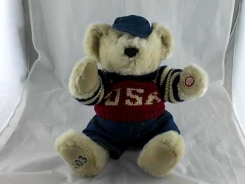 Proud To Be An American Singing Bear