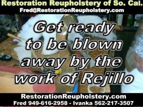 CUSTOM UPHOLSTER RESTORATION REUPHOLSTERY