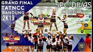 2Nd Place, SPC Divas Cheers I @Grand Final TAT NCC Bandung 2019 [@Neoskylight_Media]