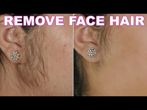 How To Remove Facial Hair Naturally | SkinCare Home Remedy | ShrutiArjunAnand