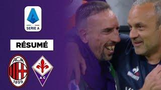 Résumé : Portée par un énorme Ribéry, la Fiorentina balaie l'AC Milan !