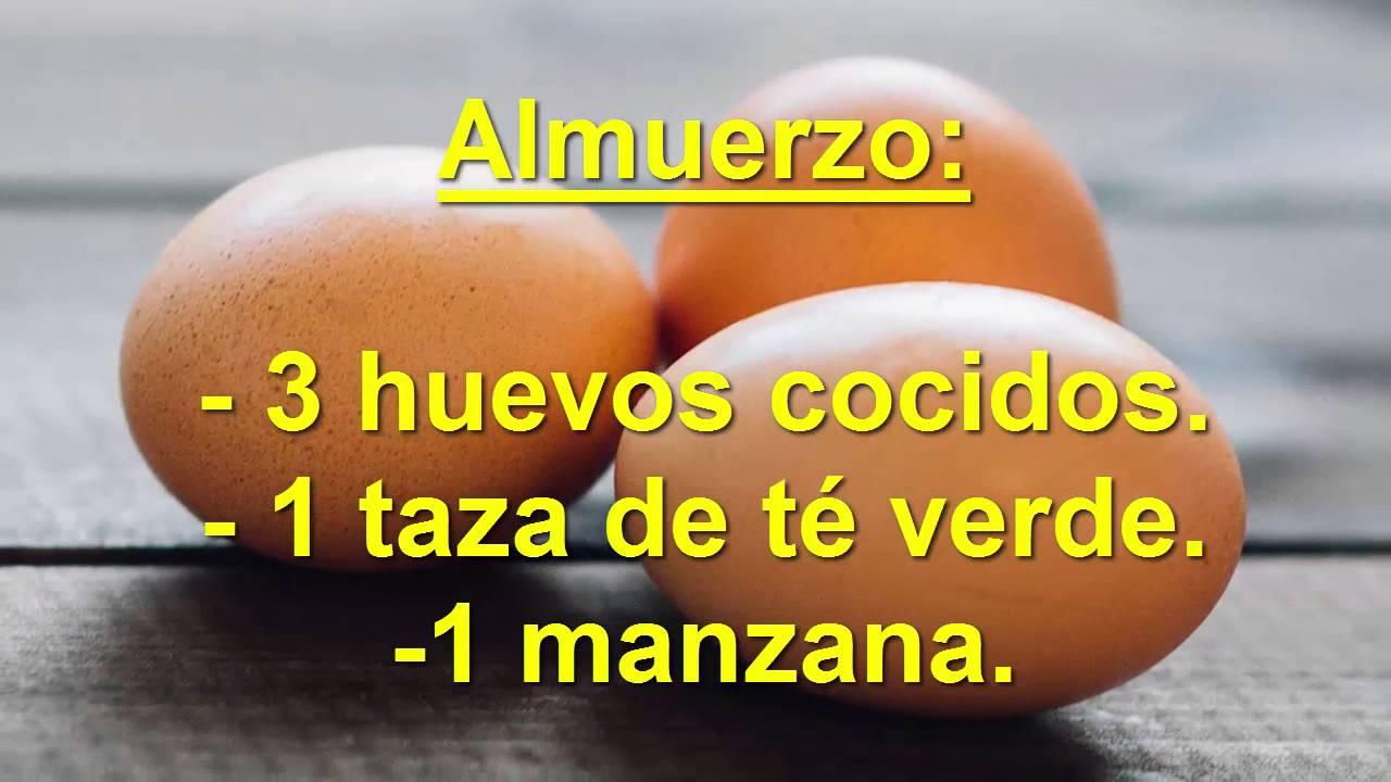 dieta de huevo para bajar de peso rapido