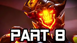 Halo 5 Gameplay Walkthrough Part 8 WARDEN ETERNAL BOSS Mission 5