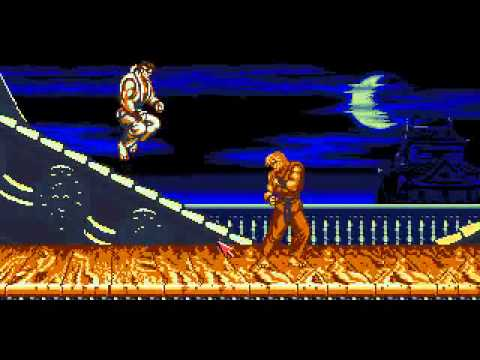 Street Fighter 2 Champion Edition Preview Test For Amiga