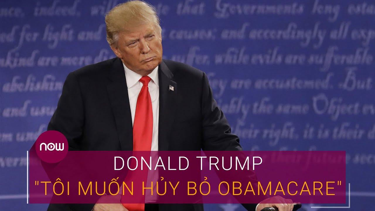 "Tranh luận Trump Vs Biden: Trump muốn ""khai tử"" chính sách Obamacare | VTC Now"