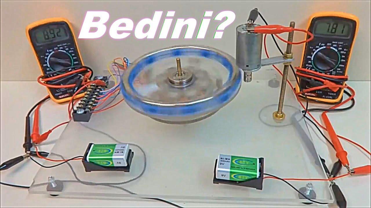 BEDINI MOTOR VS ELEMAN MAGNET MOTOR GENERATOR - YouTube