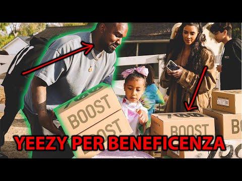 Kanye West Vende YEEZY Al Mercato Per Beneficenza