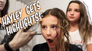 Hayley Gets Highlights! (WK 406.7) | Bratayley