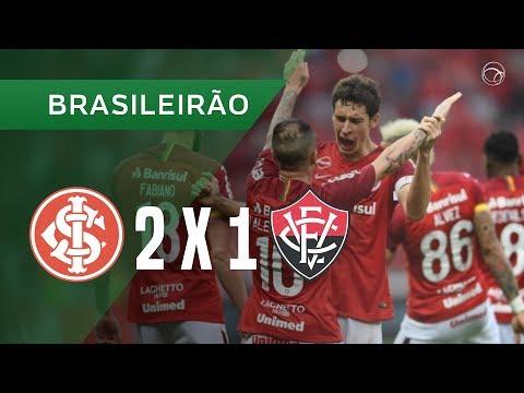 INTERNACIONAL 2 X 1 VITÓRIA - GOLS - 30/09 - BRASILEIRÃO 2018