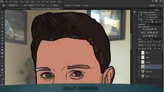 Photoshop Velocidad De Arte: Dibujos Animados Me