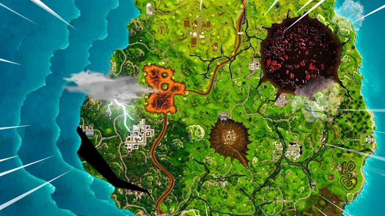 LA NOUVELLE MAP DE FORTNITE SAISON 5 VA TOTALEMENT CHANGER ...