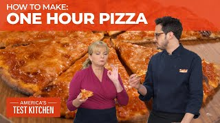 How to Make Great Homemade Pizza in One Hour