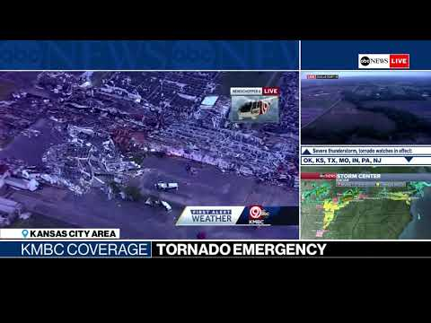 Charlie Parker -  States Of Emergency In Oklahoma, Arkansas As Storms Chew Through Kansas