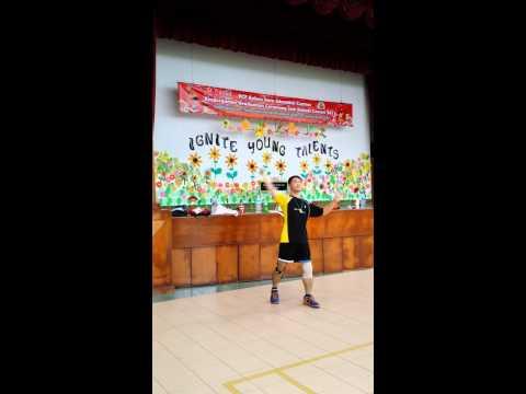 Badminton wrist training