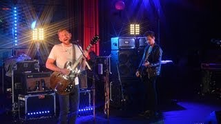 Kings of Leon cover Robyn's Dancing On My Own in the Live Lounge fo...