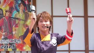弥太郎さんの前説です 高知の夏といえばよさこい、よさこいに欠かせない...