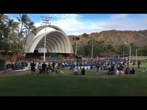 My Graduation at the Waikiki Shell! (Honolulu Community College)