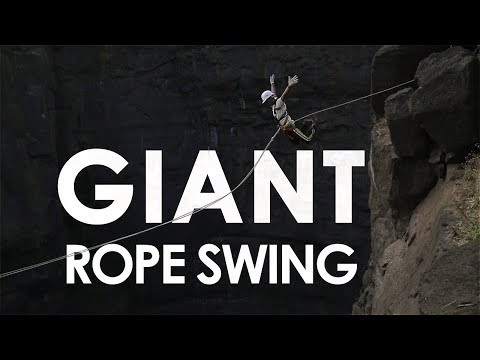 India's First* Giant Rope Swing | Sandhan Valley [HQ]