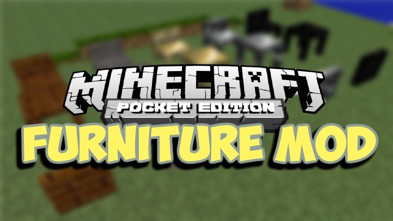 [0 8 1] Furniture in Minecraft Pocket Edition! - Pocket Furniture Script Mod