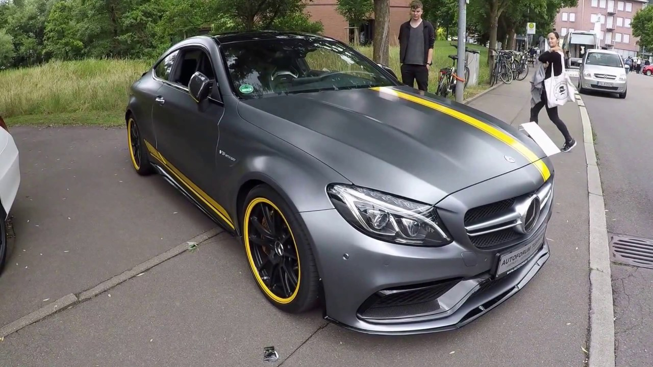 Mercedes Amg C63 S Coupe C205 New Model 2017 Walkaround
