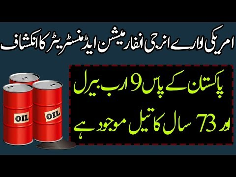 Pakistan has 73 Years of Oil Report of Energy Information Administration