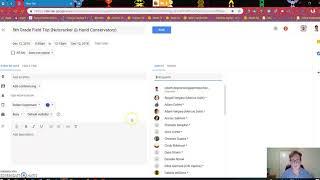 How to Copy Google Calendar Items and Invite Parents