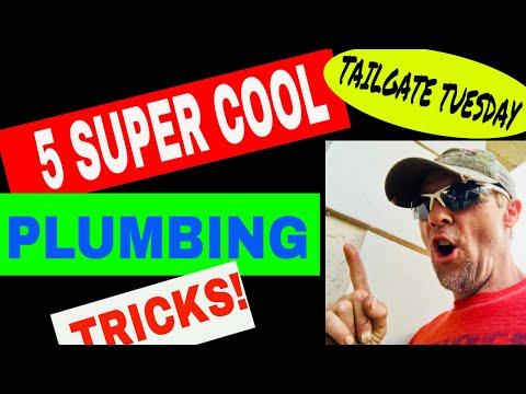 5 SUPER COOL PLUMBING TRICKS!