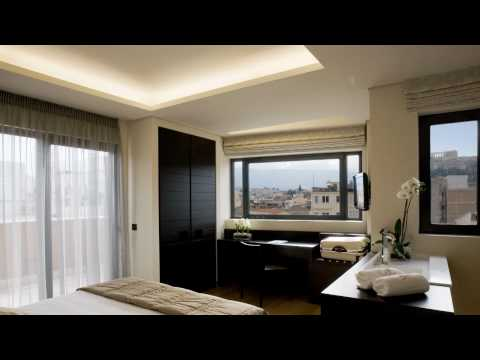 O&B Athens Boutique Hotel - downtown Athens Greece.wmv