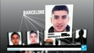 Attentats en Catalogne : la traque du fugitif s''étend à l''Europe