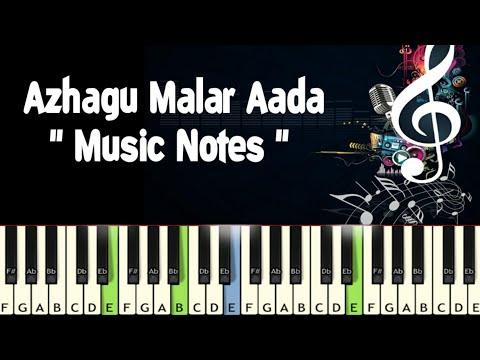 Azhagu Malar Aada (vaithehi Kaathirundhaal) Piano Notes /Midi File /Karaoke